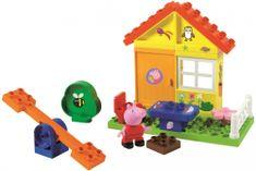 BIG PlayBIG Bloxx Peppa domek letni, 19 elementów