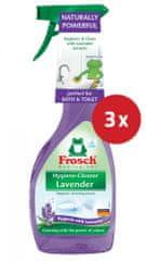 Frosch čistilo Hygiene-Cleaner, sivka, 3 x 500 ml