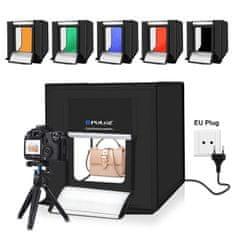 Puluz Studio foto box z LED osvetlitvijo 40cm