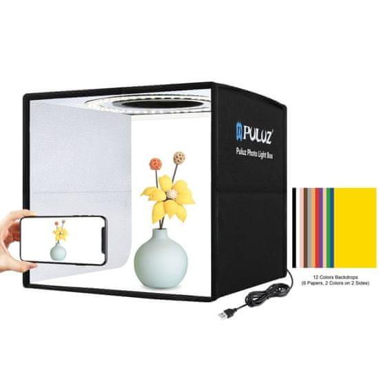 Puluz Studio foto box z LED osvetlitvijo 25cm