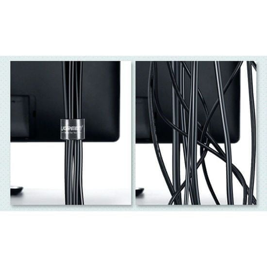 Ugreen LP124 kábel organizáto 5m, fekete