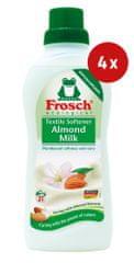 Frosch mehčalec, mandljevo mleko, 750 ml, 4 kos