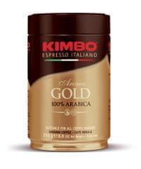 Kimbo Aroma Gold mleta kava, 100 % arabika, pločevinka, 250 g