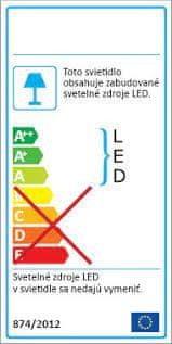 Procot LED núdzové svetlo s autotest NAV-IP65DA3h-LiFEPO