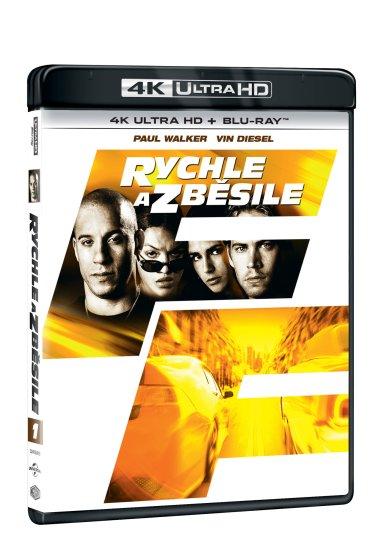 Rychle a zběsile (2 disky) - 4K Ultra HD + Blu-ray