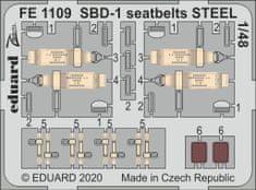 EDUARD SBD-1 seatbelts STEEL lepty 1/48