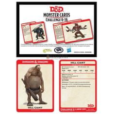 Wizards of the Coast WotC D&D Monster Card Deck Levels 6-16
