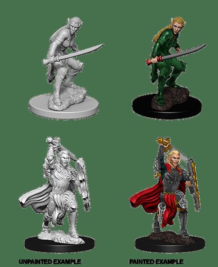 WizKids D&D Nolzur's Marvelous Miniatures: Elf Fighter F
