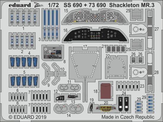 EDUARD Shackleton MR.3 BigEd 1/72