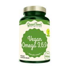 GreenFood Nutrition Vegan Omega 3,6,9 60 kapslí
