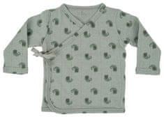Lodger detské zavinovacie tričko Topper LS Flame Tribe Silt Green 56 zelené