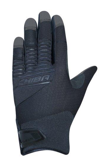 CHIBA Cyklistické rukavice pro dospělé Blade černé