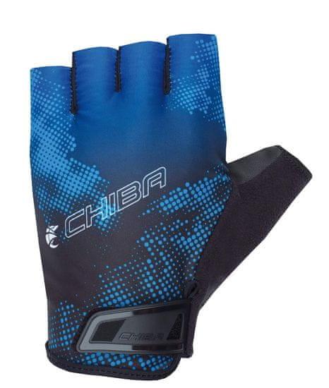 CHIBA Cyklistické rukavice pro dospělé Ride II modré