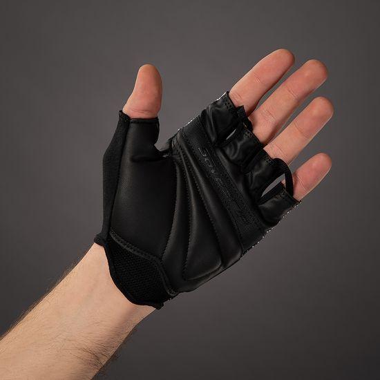 CHIBA Cyklistické rukavice pro dospělé Ride II černé