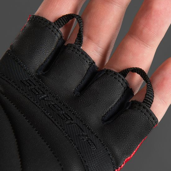 CHIBA Cyklistické rukavice pro dospělé Ride II červené