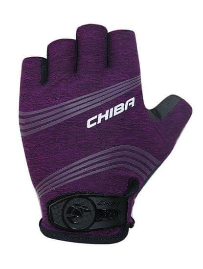 CHIBA Cyklistické rukavice pro ženy Lady SuperLight fialové