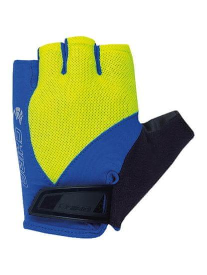 CHIBA Cyklistické rukavice pro děti Youth neónově žluté