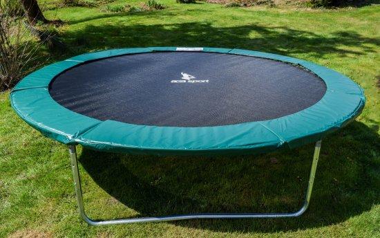 Aga Sport Fit Trampolin 305 cm Dark Green + varnostna mreža