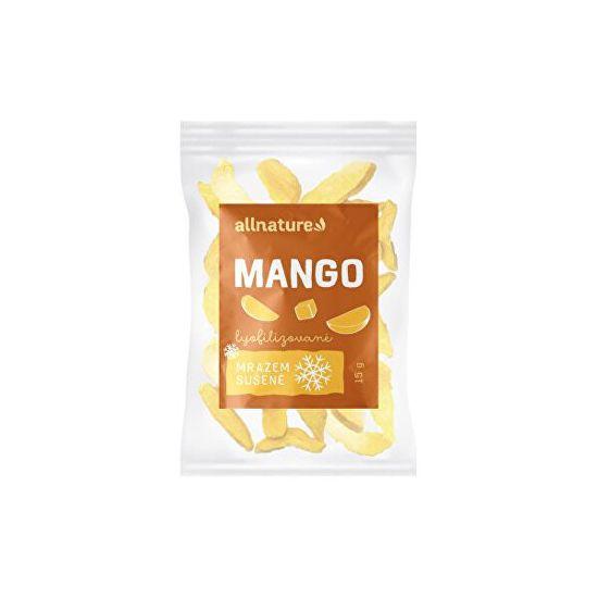 Allnature Mango sušené mrazem plátky 15 g