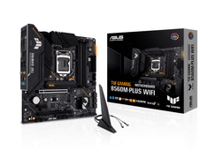 Asus TUF Gaming B560M-Plus osnovna plošča, WiFi, LGA1200, USB-C, mATX