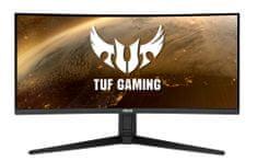 Asus TUF Gaming VG34VQL1B monitor, 86.4 cm, VA, WQHD, ukrivljen (90LM06F0-B01170)