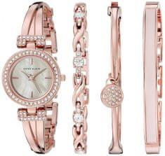 Anne Klein AK/2238RGST set - dámské hodinky s náramky