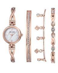 Anne Klein AK/3082RGST set - dámské hodinky s náramky