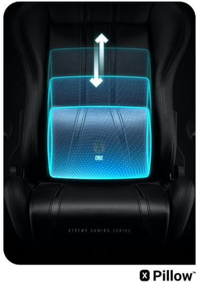 Diablo Chairs X-One 2.0, černá (5902560337099)