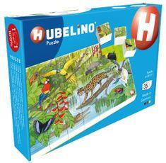 Hubelino puzzle Zwierzęta w lesie deszczowym