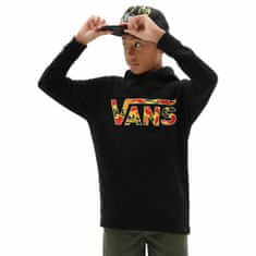 Vans Pulover By Classic Po H Black/Flame Cam XL