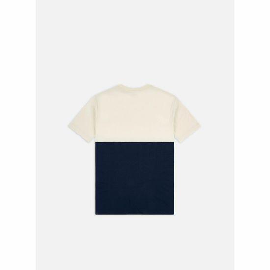 Vans Majica Mn Colorblock Tee Dress Blues/See