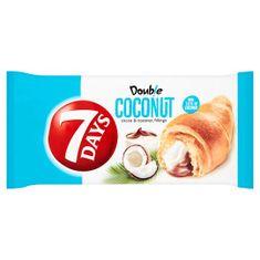 7 days Bake Rolls Double Croissant s kakaovou a kokosovou náplní 60g