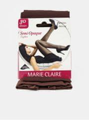Marie Claire hnědé punčochové kalhoty 30 DEN M