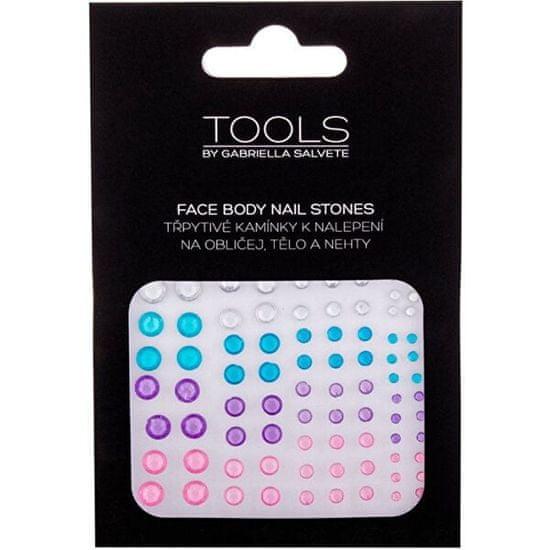 Gabriella Salvete Nalepovací kamínky na obličej, tělo a nehty 02 (Face Body Nail Stones)