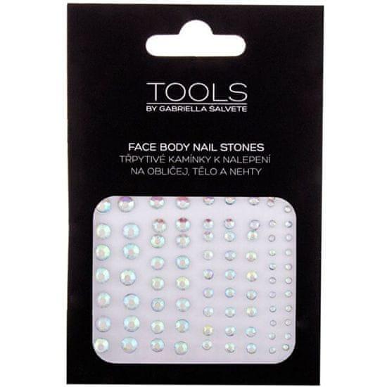 Gabriella Salvete Nalepovací kamínky na obličej, tělo a nehty 01 (Face Body Nail Stones)