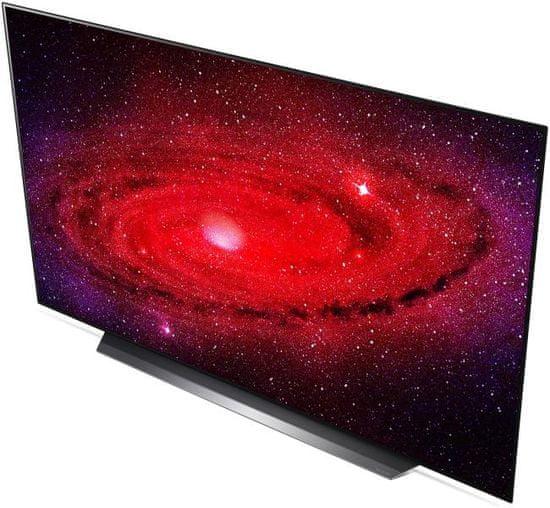LG OLED65CX3LA Smart OLED Televízió, 165 cm, 4K Ultra HD, HDR, webOS ThinQ AI, Fekete