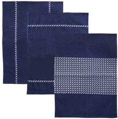 Orion Kuchyňská utěrka bavlna TEČKA 3 ks B