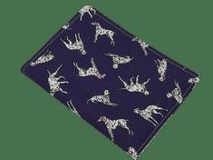 Šišipu Obal na očkovací průkaz psa nebo kočky Dalmatin