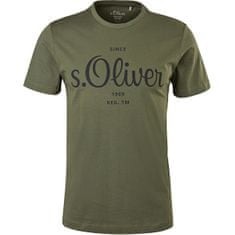 s.Oliver Pánské triko Regular Fit 130.11.899.12.130.2057432.7940 (Velikost XXL)