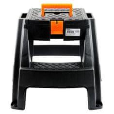 Koopman stopnice/pručka s kovčkom za orodje, 47,5 × 42 × 43 cm (1311118829)