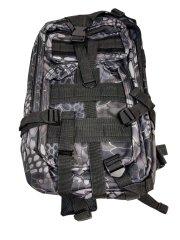 Vojenský turistický batoh 28 l, šedá T-255-SE