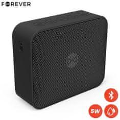 Forever BLIX 5 Bluetooth zvočnik, BS-800, 5W, TWS, IPX7, črn
