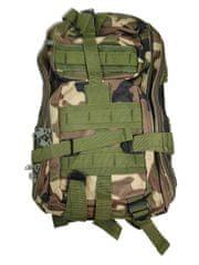 Vojenský turistický batoh 28 l. zelená navy T-255-ZN