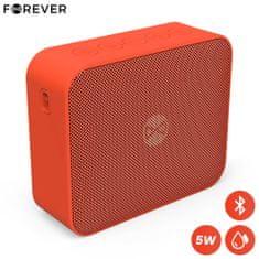 Forever BLIX 5 Bluetooth zvočnik, BS-800, TWS, IPX7, rdeč