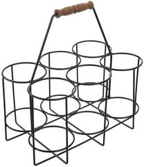 Orion Stojan kov/dřevo na pivní láhve/půllitry 6 pozic