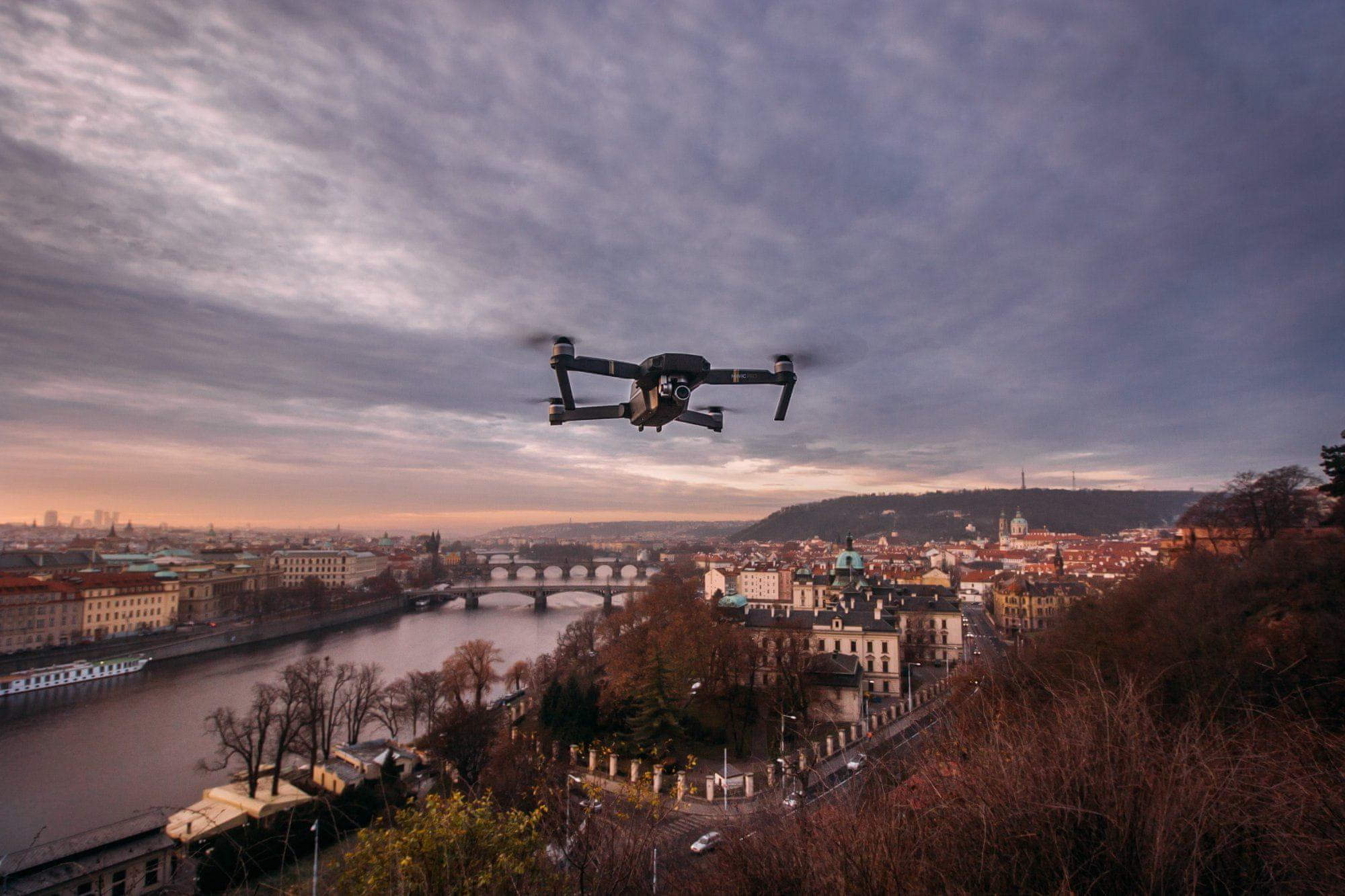 Drony a pravidla létání