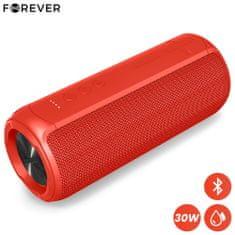 Forever TOOB 30 Bluetooth zvočnik, BS-950, 30W, TWS, IPX7, rdeč