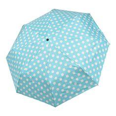 Doppler Dámsky skladací dáždnik Ballon 700165PBL Turquoise