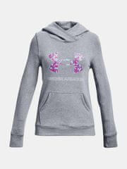 Under Armour Pulover Rival Fleece Logo Hoodie-GRY L