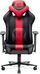 Diablo Chairs X-Player 2.0, XL, karmínová/antracitová (5902560337761)